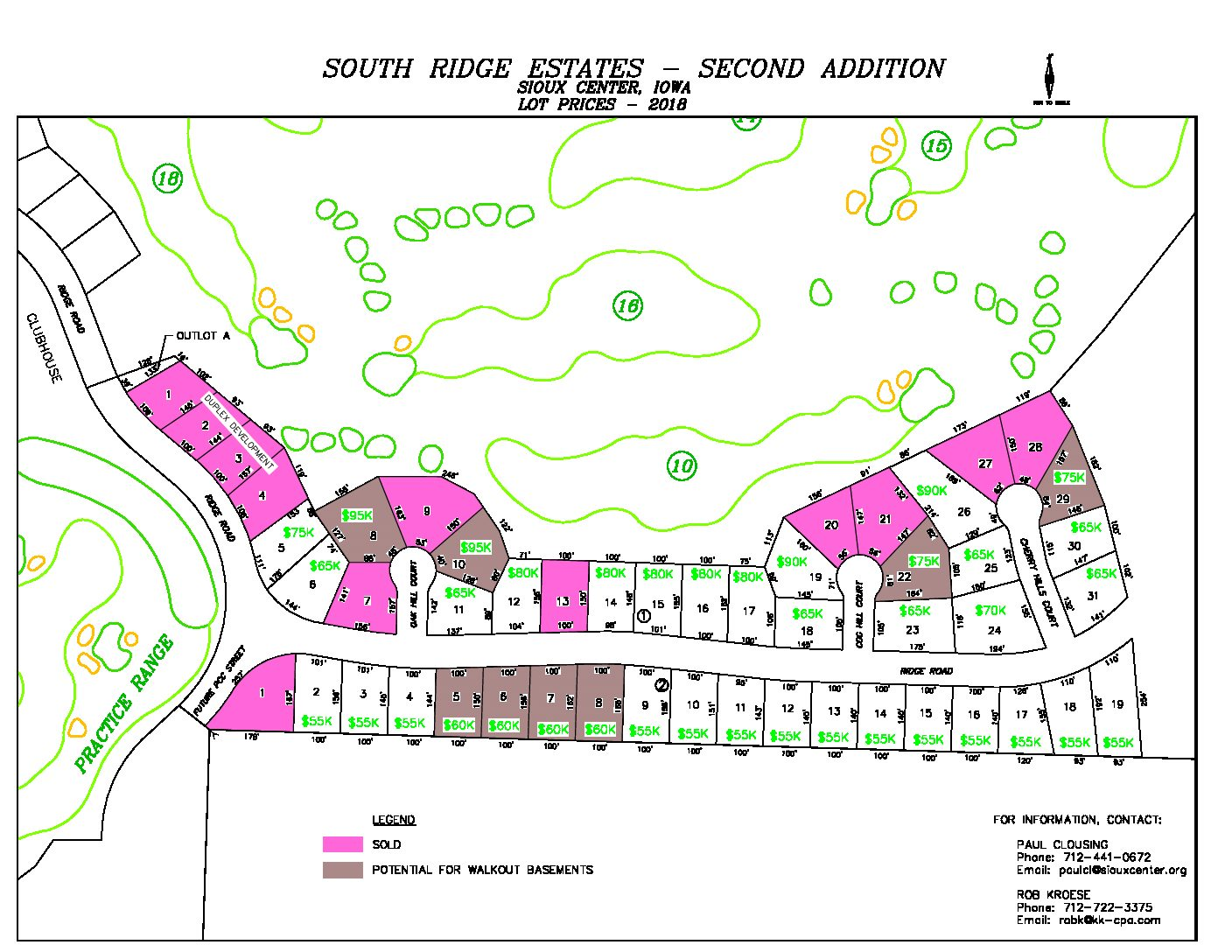 South Ridge Lots - Epic Realty - Homes for sale in Northwest Iowa ...